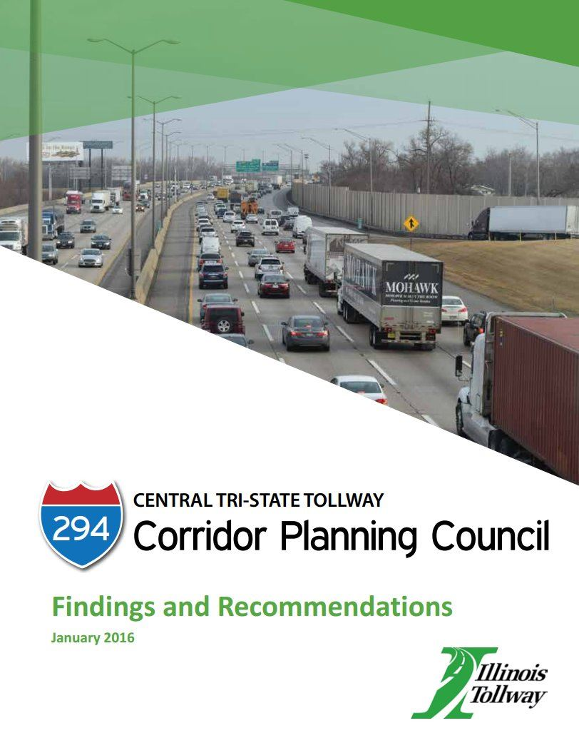 I-294 Corridor Planning | Western Springs, IL - Official Website on chicago construction, illinois interchange construction, illinois bridge construction, illinois highway construction, illinois road construction,